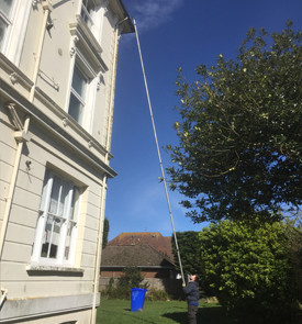 gutter cleaning for flats eastbourne
