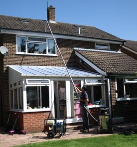 gutter cleaning homes eastbourne
