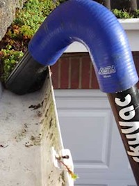gutter clearance vac cleaner